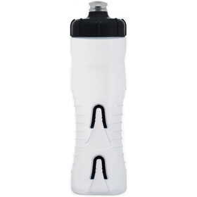 Fabric Cageless Bottle 750ml clear/black